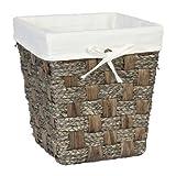 Java Waste Basket Finish: Grey