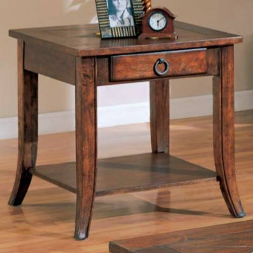 Cheap Coaster Furniture 700257 Franklin End Table with Slate Tile Top and Storage 700257 (B008L5JITU)