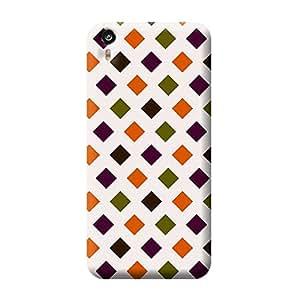 Garmor Check Design Plastic Back Cover For HTC Desire Eye M910X (Check - 7)