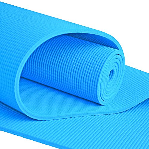 YogaAccessories (TM) 1/4'' Extra Thick High Density Yoga