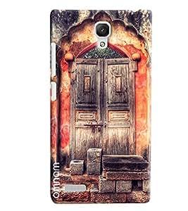Omnam Beautiful Door Of Acient Looks Desinged Back Cover Case For Xiaomi Redmi Note
