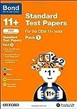 Bond 11+: CEM: Standard Test Papers: Pack 1