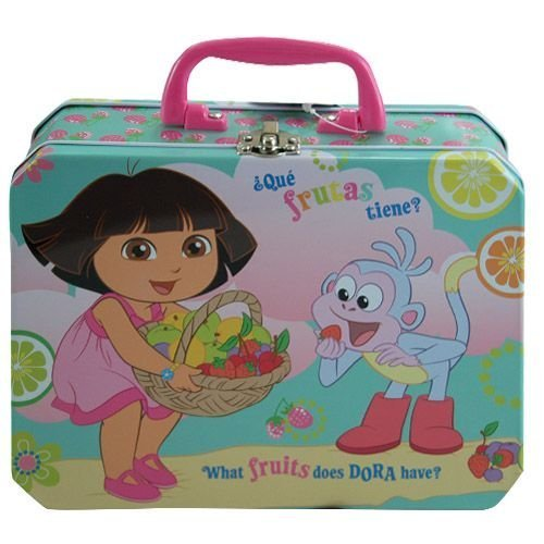 Dora Deluxe Rectangle Tin Box