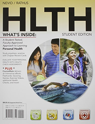 Bundle: HLTH (with Health CourseMate with eBook Printed Access Card) + Diet Analysis Plus 2-Semester Printed Access Card