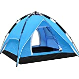 Yaheetech Outdoor Waterproof Automatic 4 Person Camping Family Tent