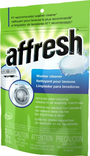 Affresh High Efficiency Washer Cleaner, 3-Tablets