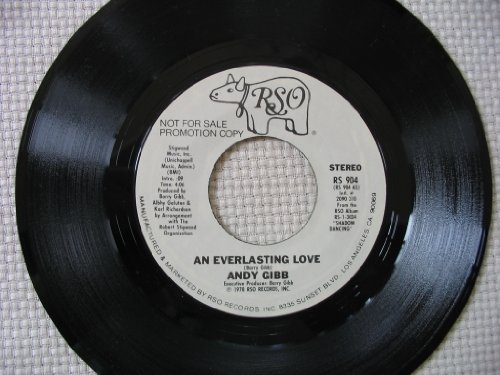 an everlasting love   mono 45 rpm single by ANDY GIBB