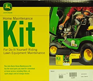 John Deere Genuine LG265 Home Maintenance Kit for JOHN DEERE: X300 (Engine FS541V Starting with serial no. 120001) X300R (Starting with serial no. 150001) X304 X320 X324 X360 X500 (Engine FS730V) X530 (FS730V Engine) X534 from John Deere