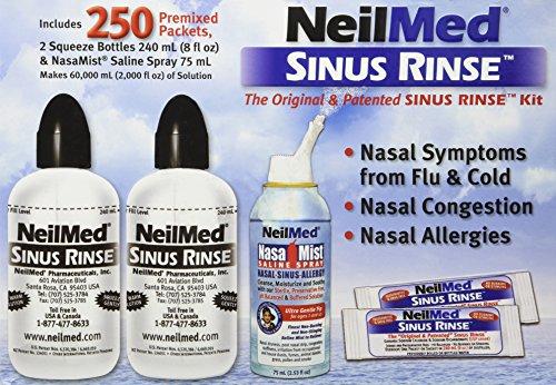 sinus flush machine