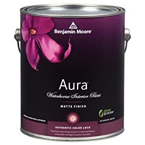 Benjamin Moore Aura Waterborne Interior Latex Paint
