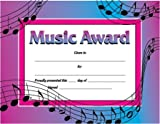 Music Award Certificate (0742403335) by School Specialty Publishing