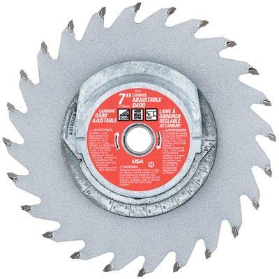 Vermont American 26752 7-Inch 16T Carbide Adjustable Dado