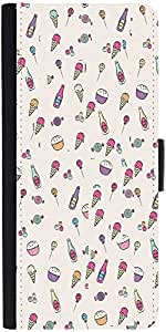 Snoogg Sweet patternDesigner Protective Flip Case Cover For One Plus One