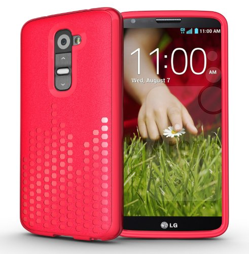 Tudia Ultra Slim Melody Series Tpu Protective Case For Lg G2 (Sprint / T-Mobile Only) (Pink)