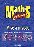 echange, troc S Such - Maths pour tous : Mise à niveau