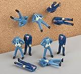 Pinhead Corporate Business Men Pushpins - Push Pins - Thumb Tacks