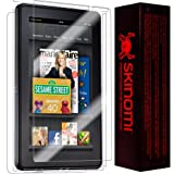 "Skinomi® TechSkin - Amazon Kindle Fire HD 7"" (2nd Generation) Screen Protector + Full Body Skin Protector (2013) with Lifetime Replacement Warranty / Front & Back Premium HD Clear Film / Ultra High Definition Invisible and Anti-Bubble Crystal Shield - Retail Packaging"