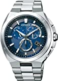 [シチズン]CITIZEN 腕時計 ATTESA アテッサ Eco-Drive エコ・ドライブ 電波時計 クロノグラフ AT3010-55L メンズ