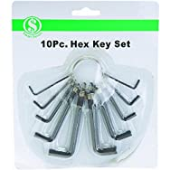 Do it Best Global Sourcing AD002 Hex Key Set - Smart Savers-10PC HEX KEY SET