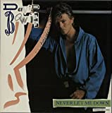 Never let me down (Ext. Dance Remix, 1987) / Vinyl Maxi Single [Vinyl 12'']