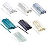 30 Stück Befestigungsclips für PVC Sichtschutzstreifen Clip Sichtschutz 7 Farben