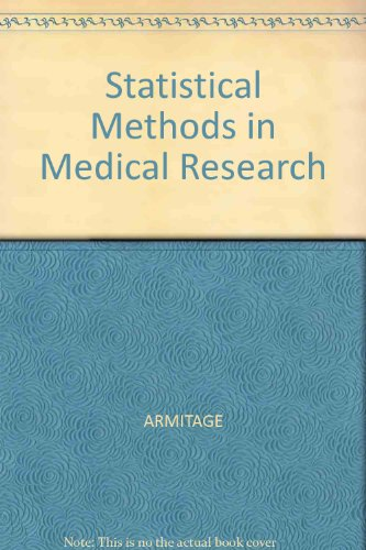 Statistical Methods in Medical