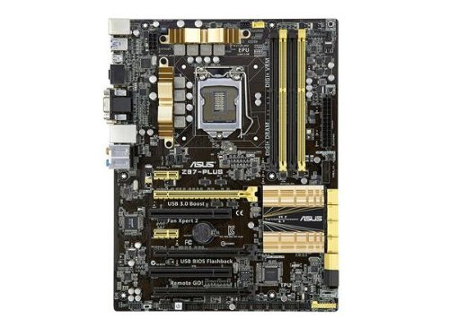 Asus Z87PLUS DDR3 1600 LGA 1150 Motherboard Picture
