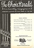 img - for The Choir Herald, Furnishing an Anthem for Every Sunday of the Year, July 1949 book / textbook / text book