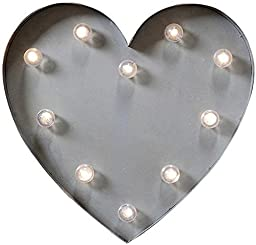 Marquee Light up Heart, 14\