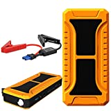 AGA A13 Car Jump Starter 20000mAh Booster Emergency Power Source Emergency Auto Start Power & Ultra-bright LED Flash Light for SOS & High Capacity Power Bank for Cellphone Tablet Laptop