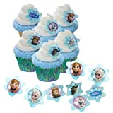 48 Disney Frozen Cupcake Rings & 50 Baking Cups