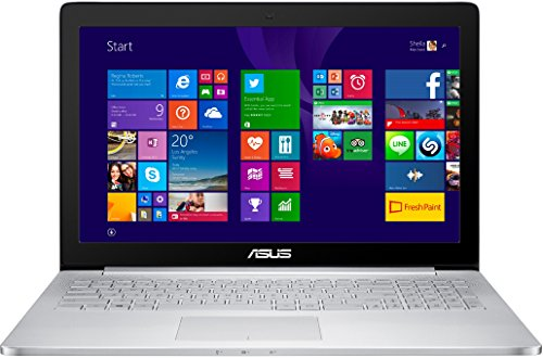 Asus UX501JW-FI177H 39,6 cm (15,6 Zoll) Notebook (Intel Core-i7 4720HQ, 3,5GHz, 16GB RAM, 1TB+128GB SSD, NVIDIA Geforce GTX 960M, Win 8.1) silber