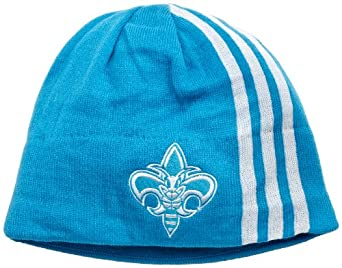 NBA Authentic Team Knit Hat - Kf10Z, New Orleans Hornets, One Size, Creoleblue , New... by adidas