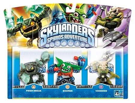 Skylanders: Spyro's Adventure - Triple Character Pack - Voodood, Boomer and Prism Break (Wii/PS3/Xbox 360/PC)