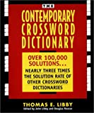 img - for The Contemporary Crossword Dictionary book / textbook / text book