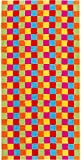 Cawö Saunatuch Lifestyle Cubes 7017 multicolor - 25 Größe 70