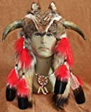 Imitation Native American Medicine Man Head (INH06)