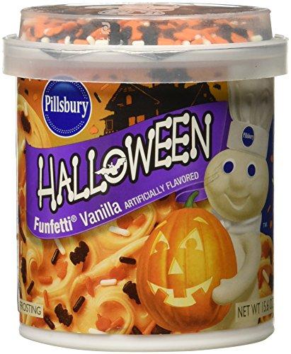 Pillsbury Halloween Funfettti Frosting Vanilla (Funfetti Icing compare prices)