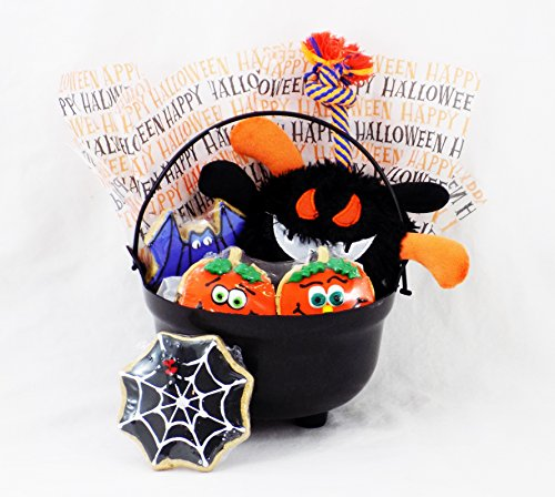 [Have a FANGtastic Halloween! - Dog Toy and Treat Halloween Gift Basket by Cheeky Monkeey] (Flavor Of Love Halloween Costume)