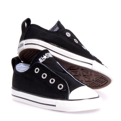 Converse Simple Slip Infant Shoes (10, Black)