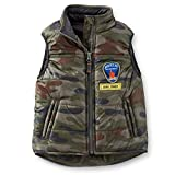 Carters Little Boys Fleece-Lined Puffer Vest - Camo 5t