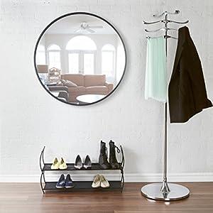 umbra hub 36 inch mirror bezel black kitchen home. Black Bedroom Furniture Sets. Home Design Ideas