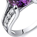 Simulated-Alexandrite-Solitaire-Ring-Sterling-Silver-Rhodium-Nickel-Finish-Sizes-5-to-9