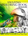 Amazing Coloring Book. Grayscale: For...