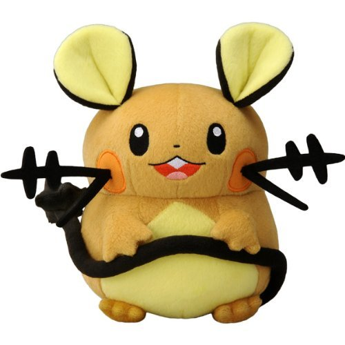 Takaratomy New Pokemon N-05 X and Y Dedenne 7' Plush Doll