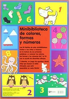 Minibiblioteca de colores, formas y numeros/ Mini-Library of Colors