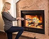 "1 X Epica Fireplace Tongs, 26"" Long, Log Grabber"