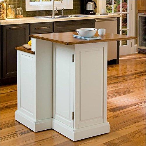 Home Styles 5010-94 Woodbridge 2-Tier Kitchen Island