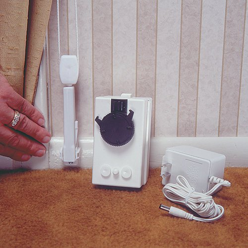Add a motor drapery motor for existing drapery d80 for Z wave motorized blinds