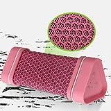 Earson Outdoor Sport Waterproof Shockproof Dust-proof Wireless Bluetooth Speaker(Pink)